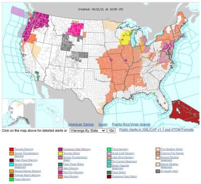 Alertan sobre ola de calor que afectará a millones esta semana en EEUU