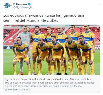 Tigres gran final Mundial de Clubes