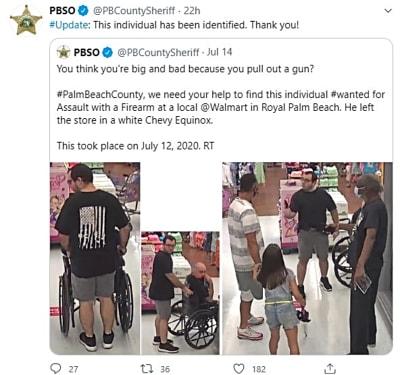 Pánico en Walmart: Pistolero sin mascarilla (FOTOS y VIDEO)