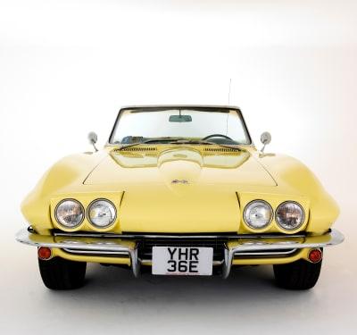 Autos clásicos de Biden Corvette Stingray