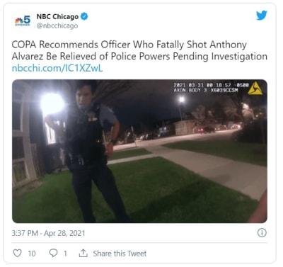 Vídeo muestra cómo policía dispara fatalmente contra otro latino en Chicago