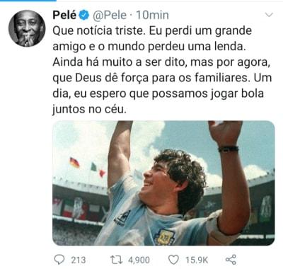 Lionel Messi muerte Maradona 2