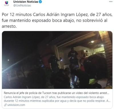 Familia Hispano muerto demanda 2