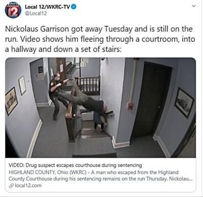 Huída espectacular: Reo escapó de la policía en sus narices (VIDEO)