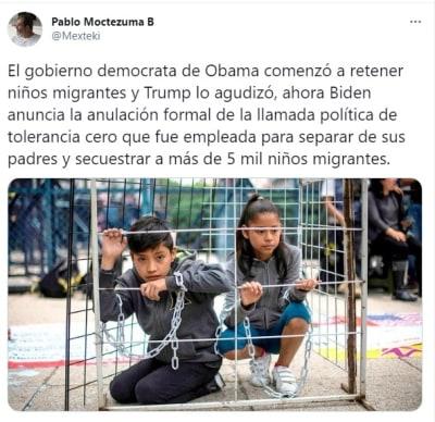 Joe Biden política niños migrantes asilo 2