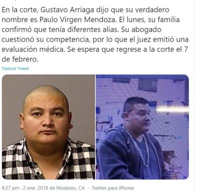 Mexicano evitó pena de muerte 1