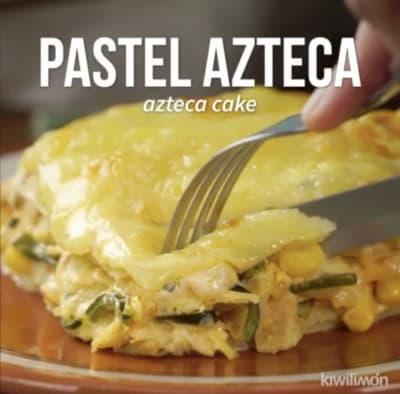 Do you dare to prepare an Aztec cake? (RECIPE + VIDEO)