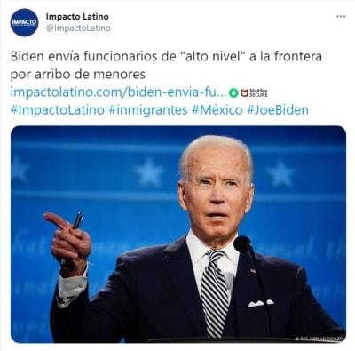 Joe Biden Funcionarios alto nivel frontera inmigrantes 2