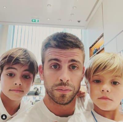 Hijos de Shakira y Gerard Piqué