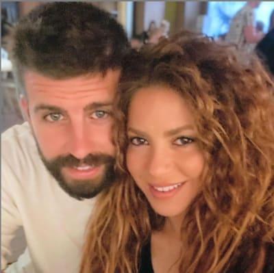 Shakira y su esposo