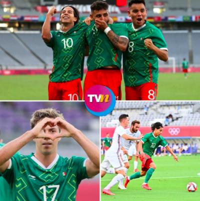 Selección Mexicana debuta en Tokio