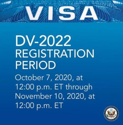 lotería de visas 2022