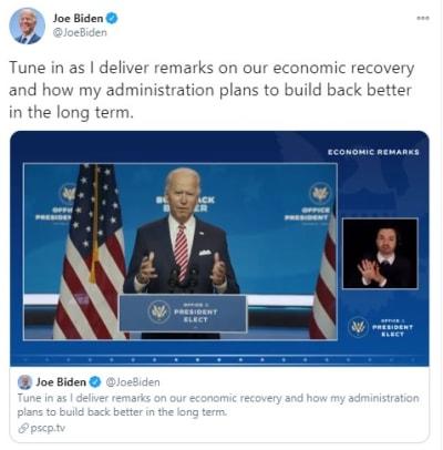 Biden muertes coronavirus Trump muertes Joe Biden COVID-19