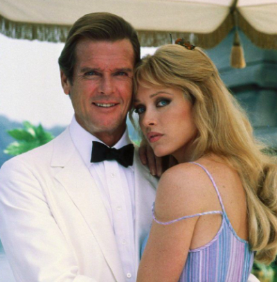 Tanya Roberts, chica Bond (Pinterest)