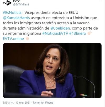 Biden Inmigrantes acceso vacuna coronavirus
