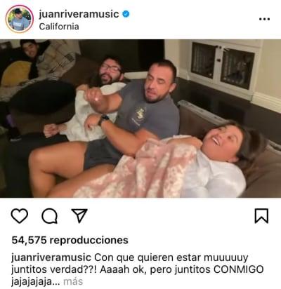 Juan Rivera novio celoso