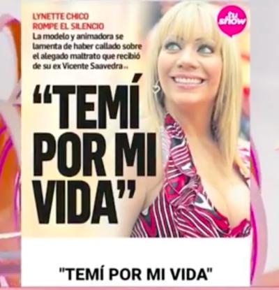 Ex De Vicente Saavedra le tiene pavor