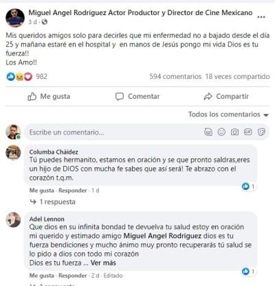 El Judicial Miguel Ángel Rodríguez delicado salud 3