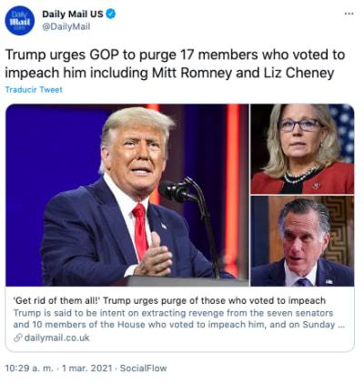 trump ataca a republicanos