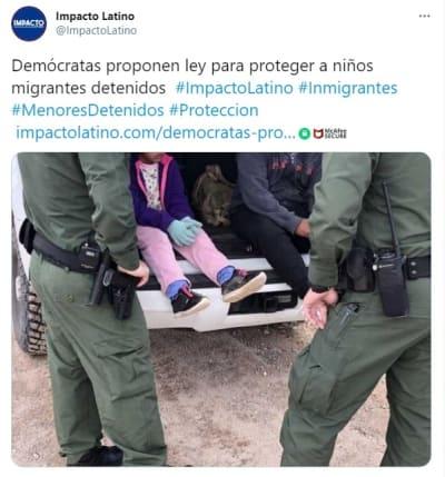 Ley proteger niños migrantes detenidos 2