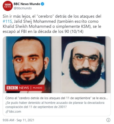 Mataron a Bin Laden, pero la mente maestra del 9/11 ¿sigue libre?