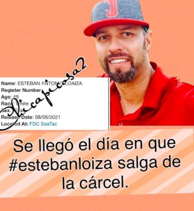 Esteban Loaiza saldrá libre