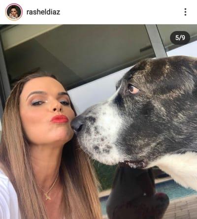 Rashel Díaz está de luto por la muerte de su ángel bello