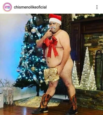 Don Cheto sorprende con foto sin ropa y le dicen que se parece a Chiquis