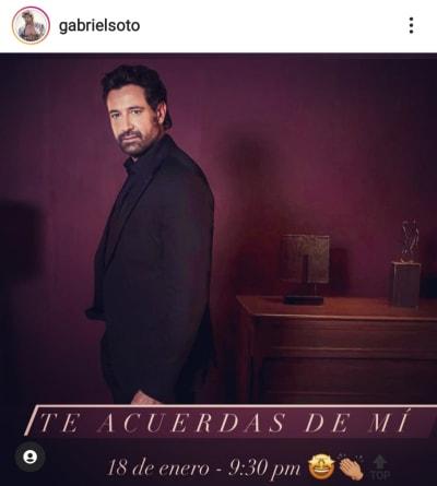 Aseguran que el video íntimo de Gabriel Soto es reciente Irina Baeva Geraldine Bazán