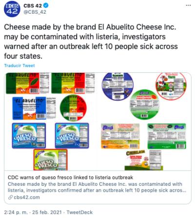 El abuelito cheese