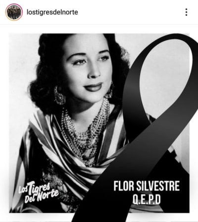 El mensaje de la hermana de Ángela Aguilar para su abuela Flor Silvestre Aneliz Aguilar