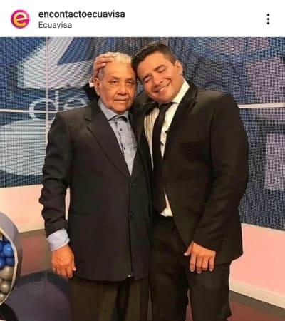 Programa de Efraín Ruales se vuelve a vestir de luto con inesperada muerte Henry Bustamante papá