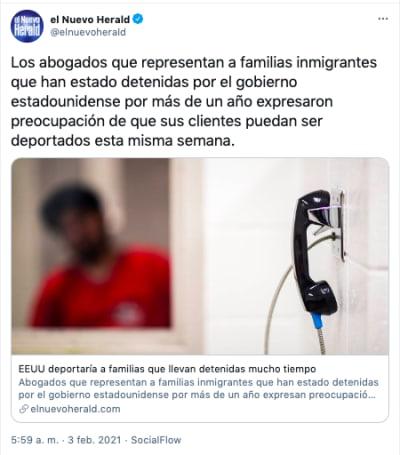 familias inmigrantes eeuu