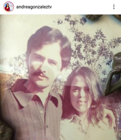 Andrea González, conductora de Univisión, pierde a sus papás en la misma semana