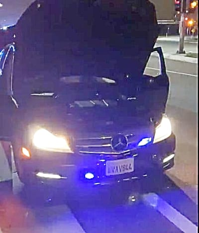 California. Arrestan a hispano por fingir ser policía para esquivar el tráfico