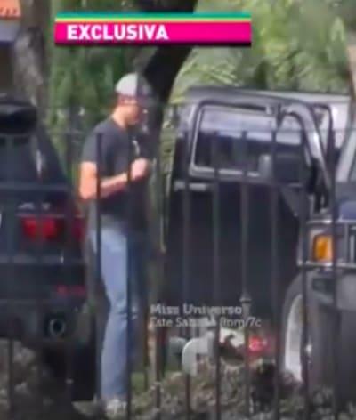 El actor mexicano fue grabado en privado