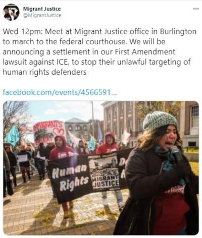 Victoria indocumentados DHS venganza