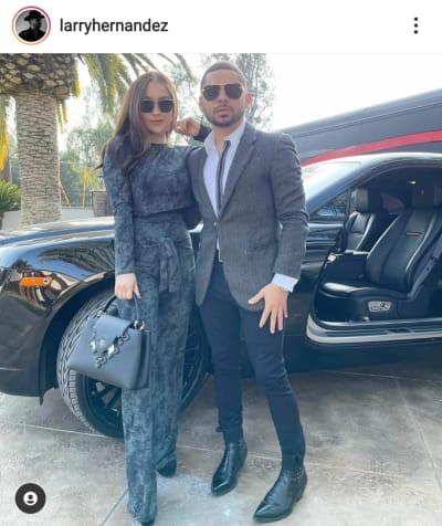Después de regalar un auto de lujo a su hijo por su cumpleaños, Larry Hernández presume su Rolls-Royce