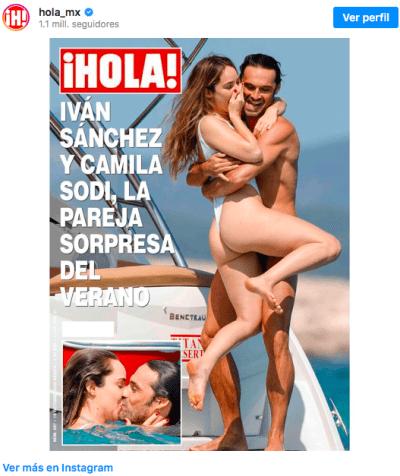 The Spanish brought down Andrés Manuel López Beltrán's girlfriend (IG)