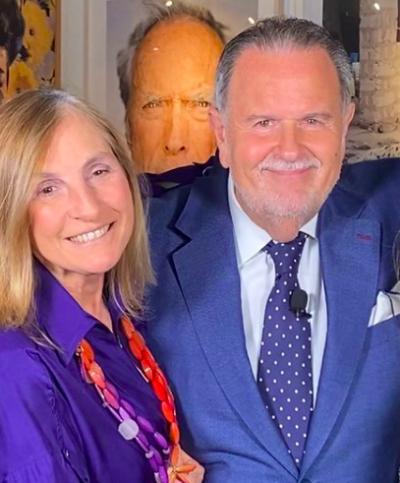 Raúl de Molina y su esposa felicitan a Biden (IG)