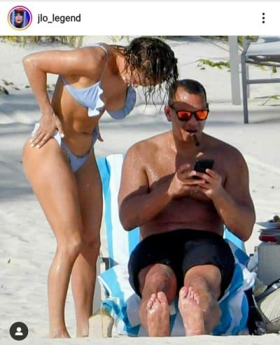 La foto en bikini de JLo que decepciona a sus seguidores
