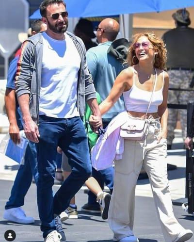 Jennifer López y Ben Affleck