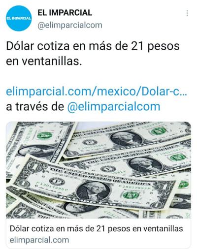 Peso mexicano 4 de marzo, así se vende el dólar hoy
