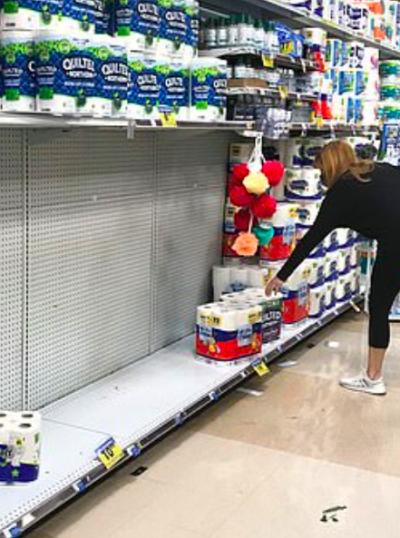 Crisis papel higiénico COVID EEUU