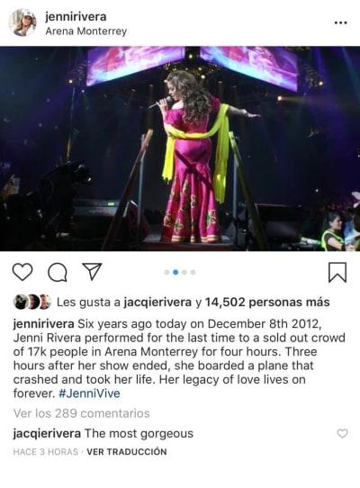 Jenni Rivera uñas