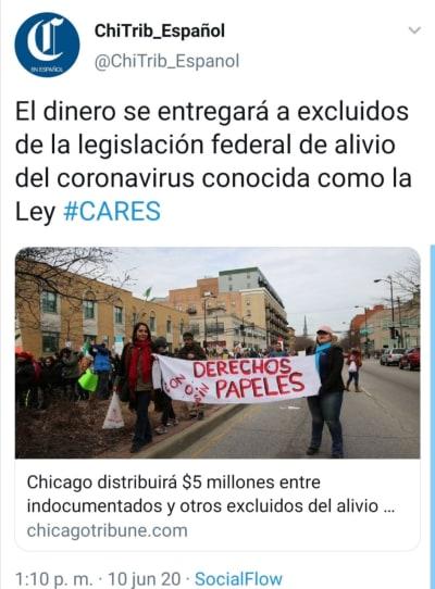 Chicago coronavirus indocumentados