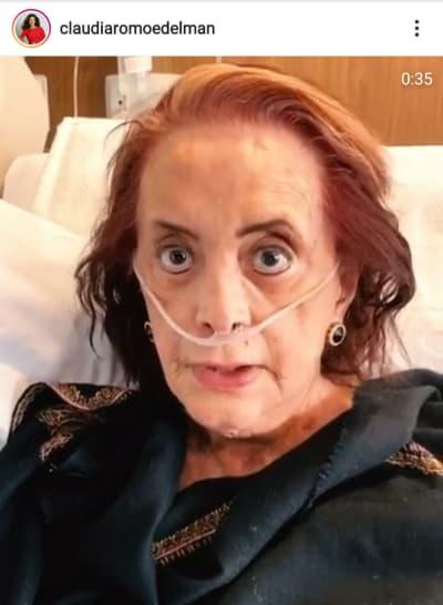 Después de ser intubada, Cecilia Romo envía mensaje a sus seguidores