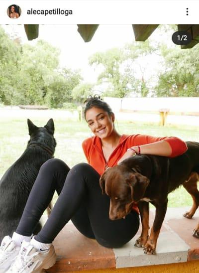 Alejandra, hija de Biby Gaytán, demuestra que tiene mejores piernas en leggins que su mamá