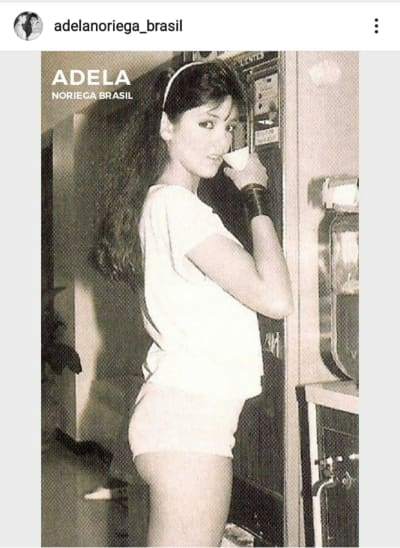 Las fotos más atrevidas en short cachetero de Adela Noriega
