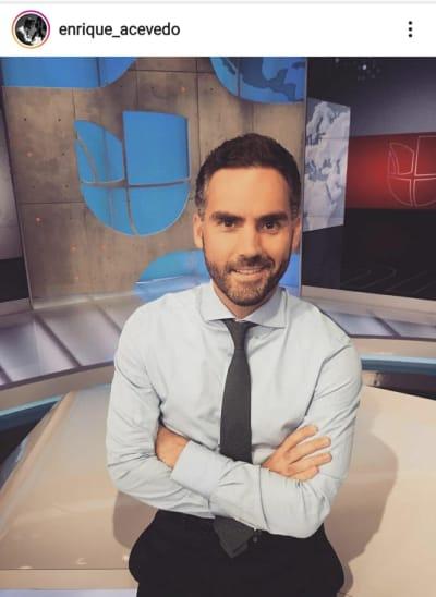 Tras elecciones, Enrique Acevedo anuncia que se va de Univisión